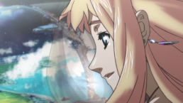 Sheryl looking out at Frontier fleet