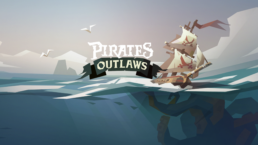 Pirate Outlaws title screen