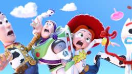 Woody, Buzz, Jessie, Forky