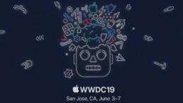 WWDC 2019 title logo