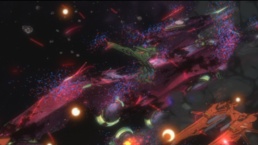 Damaged Galaxy fleet