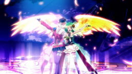 Ranka & Sheryl back to back with magic wings
